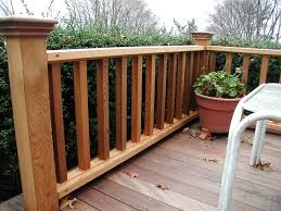Backyard Deck Designs Pictures by Robust Wood Deck Railing Designs Ideas Deck Rail Design Ideas Also