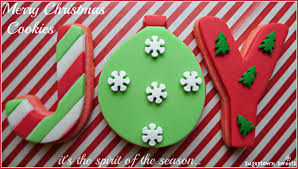 sugartown sweets merry christmas cookies it u0027s the spirit of the