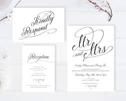 Affordable Wedding Invitations With Response Cards Wedding Invitations And Response Cards