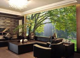 wallpaper designs for home interiors 3d mural wallpaper scenery for living room tv background home