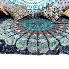 Peacock Feather Comforter Set Shop Feather Bedspread On Wanelo