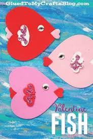 fish valentines fish craft ideas fish craft and