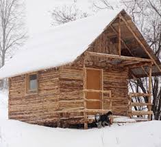 how we built log house cabin in one month youtube