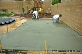 Backyard Cement Ideas Patio Ideas Sted Concrete Patio Pictures Sted Concrete