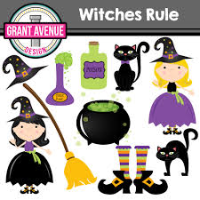 grant avenue design halloween witches