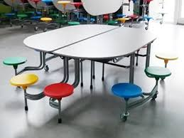 School Dining Room Furniture 10 Seat School Dining Table