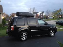 2013 honda pilot crossbars to get serious need rooftop luggage box 2013 pilot page 2