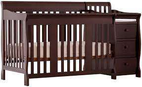 Lauren 4 In 1 Convertible Crib by Crib And Changer Combo Espresso Creative Ideas Of Baby Cribs