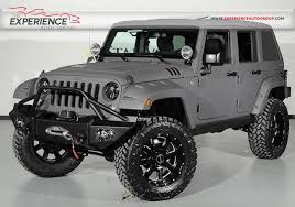 custom jeep wrangler unlimited for sale used 2015 jeep wrangler unlimited starwood custom for sale
