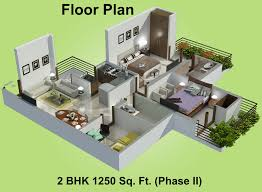 best 2 bhk home design marvellous home plan 3d 2bhk gallery best inspiration home