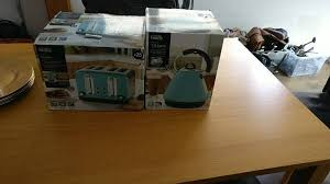Asda Kettle And Toaster Sets Duck Egg Blue Toaster And Kettle Brand New George Asda In
