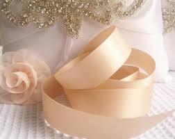 blush satin ribbon blush satin ribbon etsy