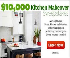 Free Kitchen Makeover - win a 10 000 kitchen makeover free sweepstakes contests