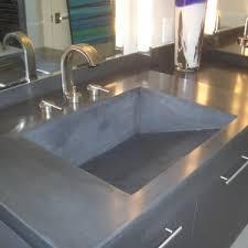 bathroom inspiring modern countertop option with granite material