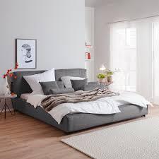 Schlafzimmer Neue Farbe Polsterbett Vesta Ii Cord 180 X 200cm Dunkelgrau Interior