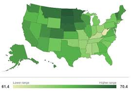 happiest states in america america happiest and saddest states psyblog