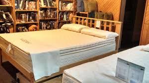 queen size solid oak mission platform bed frame hardwood eco