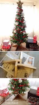 christmas tree holder 30 creative christmas tree stand diy ideas hative