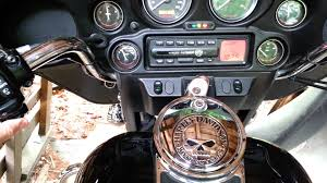 2004 electra glide automatic volume control radio youtube
