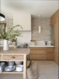 cuisine bois laqu stunning deco cuisine blanc et bois images design trends 2017