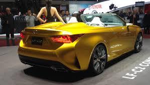 lexus lf c2 highlights of the geneva motor show 2015