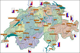 what is a climate map climate in switzerland