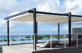 Pergola Shade Covers the forli free standing pergola cover retractableawnings com