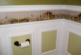 wallpaper borders bathroom ideas mist border tiles been designed to go around the entire