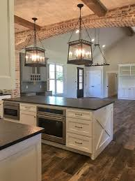 farmhouse kitchen island ideas best 25 rustic kitchen lighting ideas on kitchen