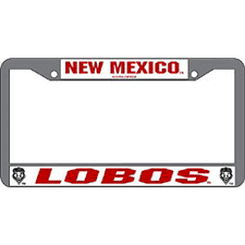 sdsu alumni license plate frame of new mexico license plate frame unm lobos license