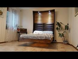 floating bed u0026 pc tv combo by blumo design youtube