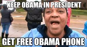 Obama Phone Meme - exceptional mediocrity safelink obama phone