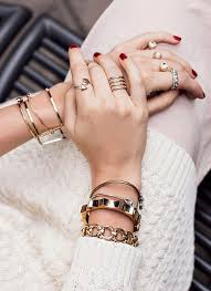 multi ring bracelet images Pop culture and fashion magic how to stack layer your jewelry jpg