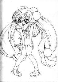 shakugan no shana ii kids coloring pages