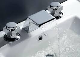 bathroom waterfall faucetscontemporary waterfall bathroom sink