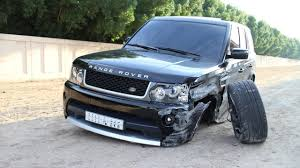 land rover sedan latest car accident of range rover sport road crash