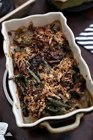 fresh green bean casserole the speckled palate