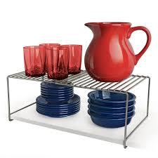 Extra Shelves For Kitchen Cabinets Amazon Com Lynk Expandable Locking Extra Shelf Adjustable