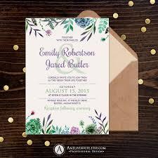 rustic wedding invitations printable wedding invitations wedding