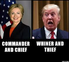 Whiner Meme - commander and chief or whiner and thief meme on imgur