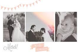 faire part de remerciement mariage faire part de mariage carte de remerciement votre heureux