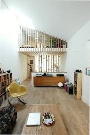 Narrow Room Divider A Cool Loft Feel In A Narrow Living Space Home Decor