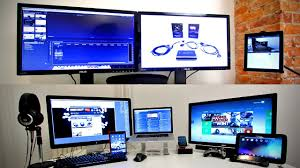 ultimate tech office tour gaming setup desk setup 2013 youtube