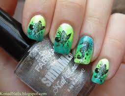 konad addict fish manicure