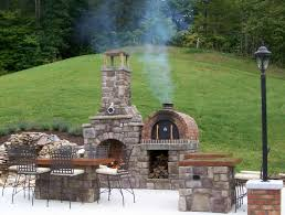 diy outdoor fireplace with pizza oven wpyninfo