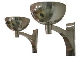 Deco Wall Sconces Pair French Art Deco Wall Sconces By Maison Desny Modernism Gallery