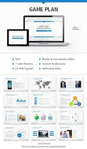 powerpoint themes for business game plan powerpoint template by stunvisuals graphicriver
