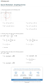 graphing circles worksheet free worksheets library download and