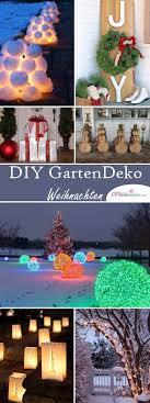 ideen garten diy deko ideen zu weihnachten den garten gestalten