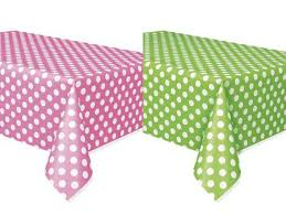 red white polka dot table covers white polka dot table covers red yellow black blue green pink